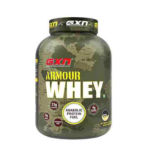 India's Top Whey Protein GXN Armour Whey - Buy Now Onine